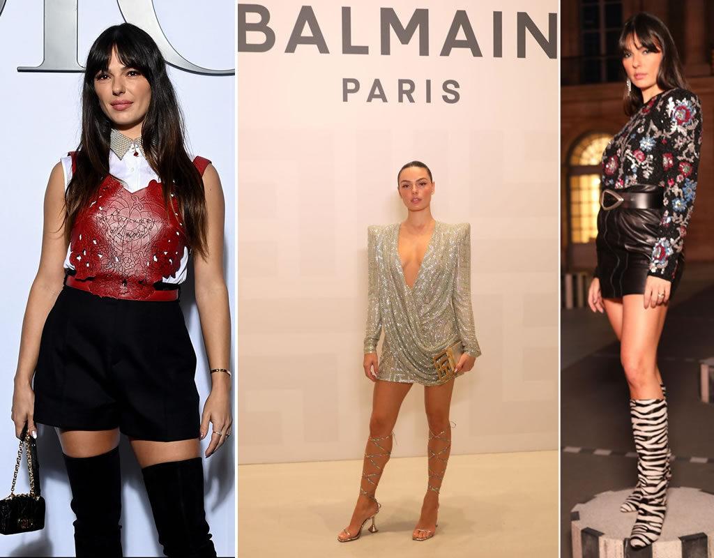 Isis Valverde na Paris Fashion Week