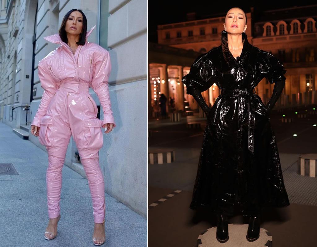 Sabrina Sato na Paris Fashion Week